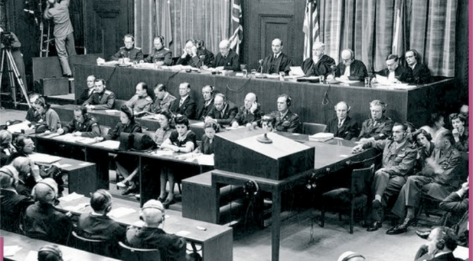 Journées d'études : Les procès de Nuremberg, 5-6 novembre 2015