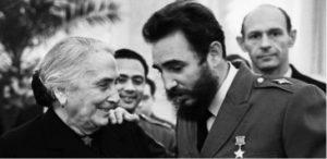Rencontre en 1964 avec Dolores Ibarruri à Moscou ©Sholomovich/Ria Novosti